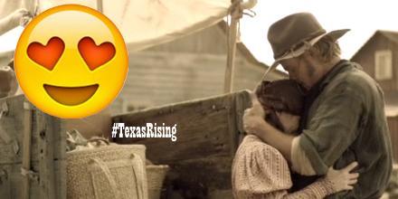 #KitAcklin loves her! He loves her! Don't get on the wagon, it's #truelove! @TrevDon #TexasRising http://t.co/d3dpknuZLt