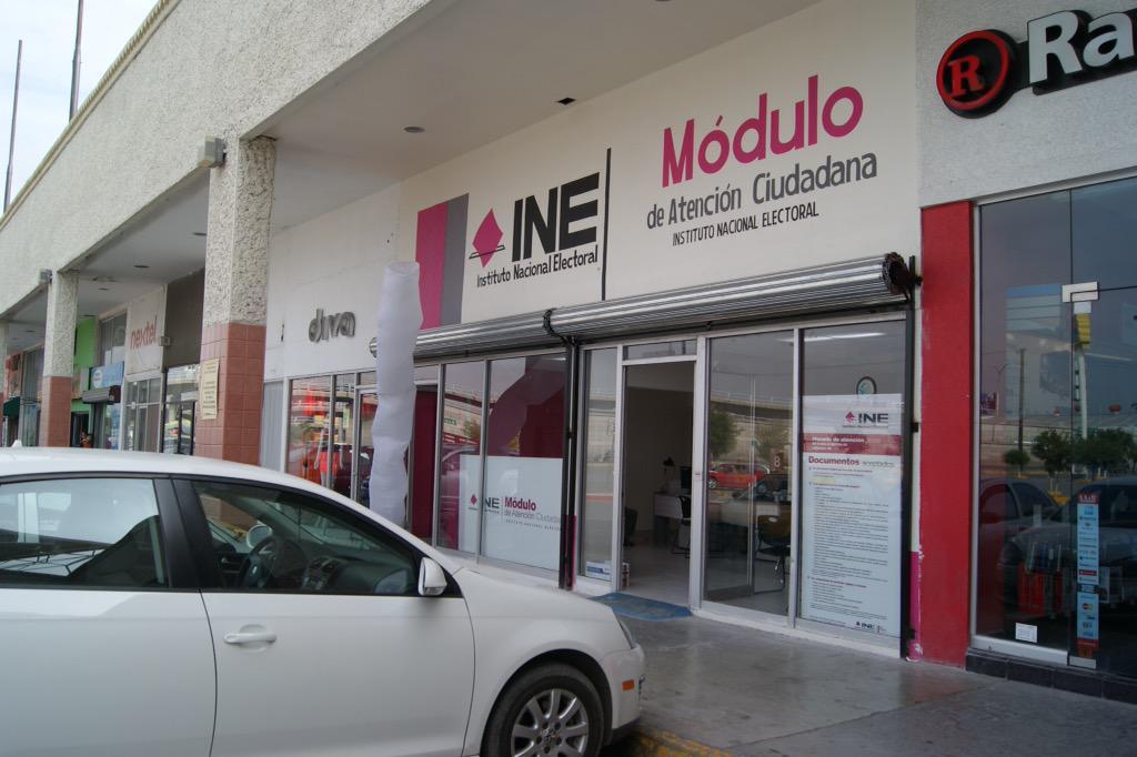 Ine Coahuila On Twitter Nuevo Módulo En Saltillo