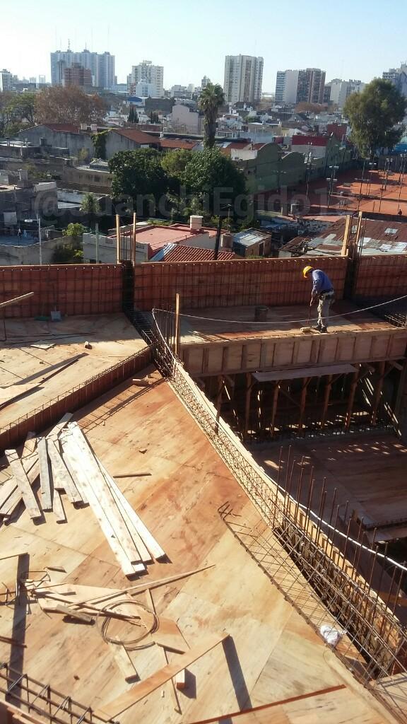 Estadio Libertadores de America (Avanzan las obras)