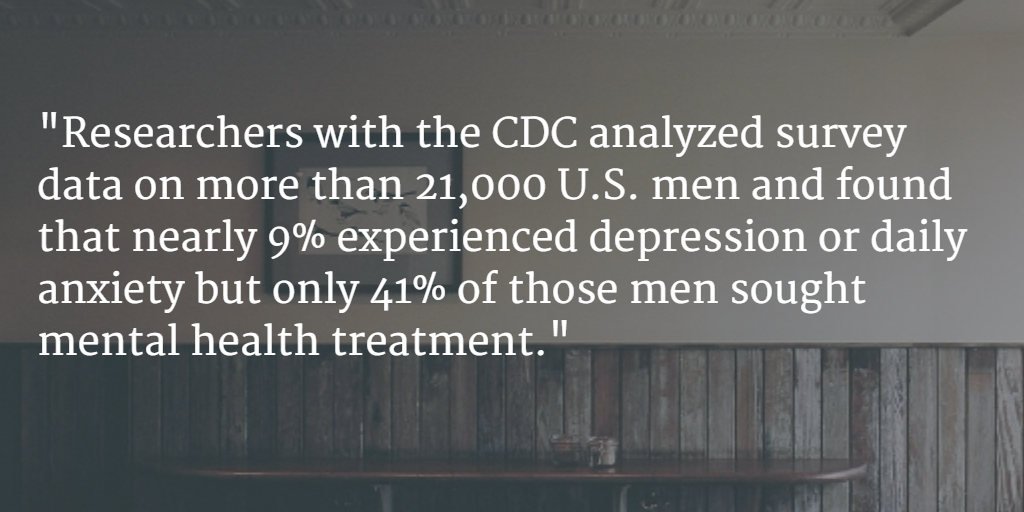Stamp Out Stigma On Twitter Cdc Less Than Half Of U S Men With