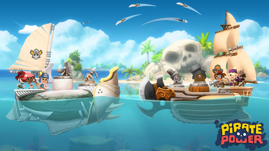 Finally, after 2 years of hard work, we are happy to announce our new game, Pirate Power! More to come soon... http://t.co/ePA6eworW9