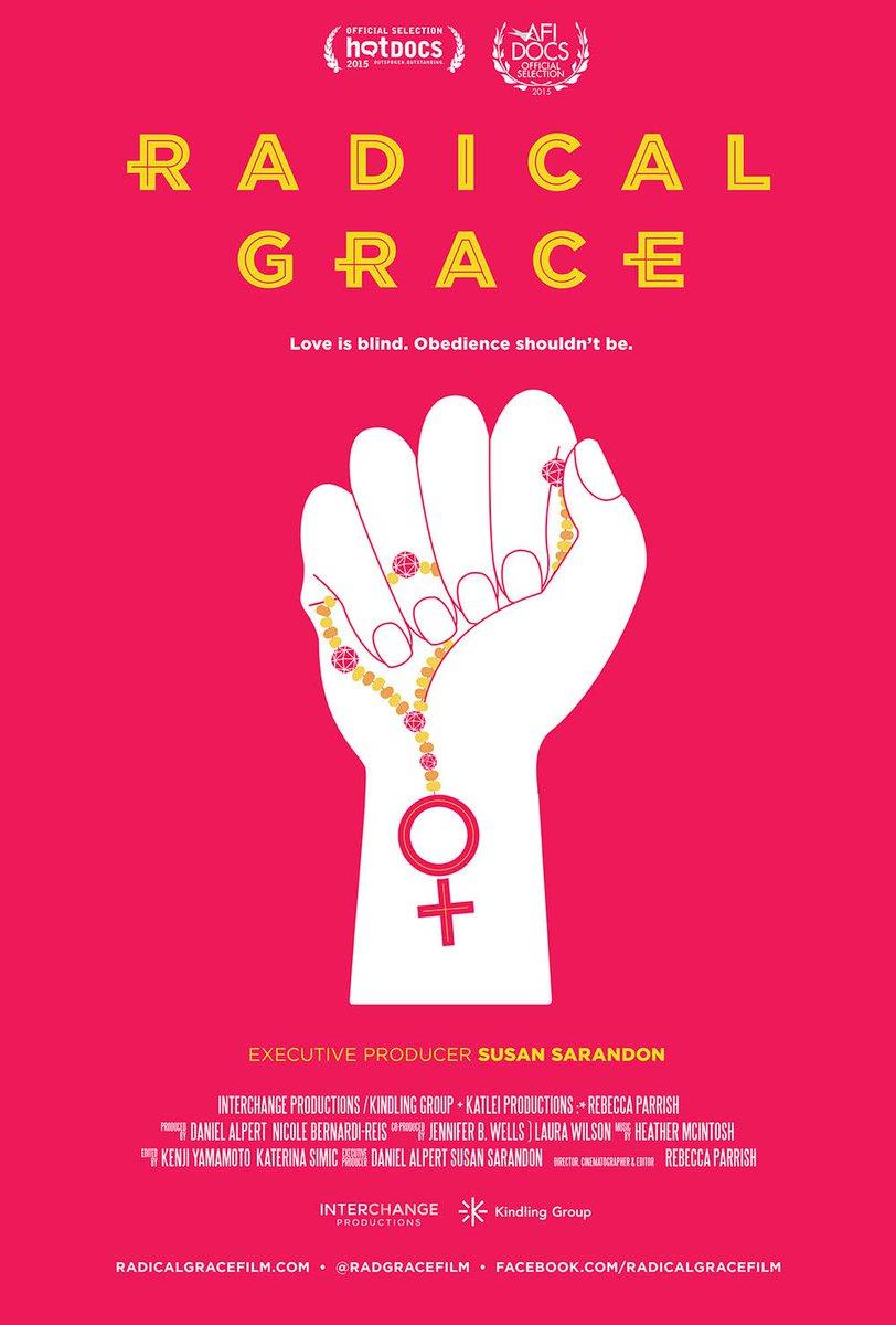 Read our interview w @RadGraceFilm dir Rebecca Parish & watch the film @AFIDOCS http://t.co/GLjIQ4Tqan @SusanSarandon http://t.co/h23veKhrQo