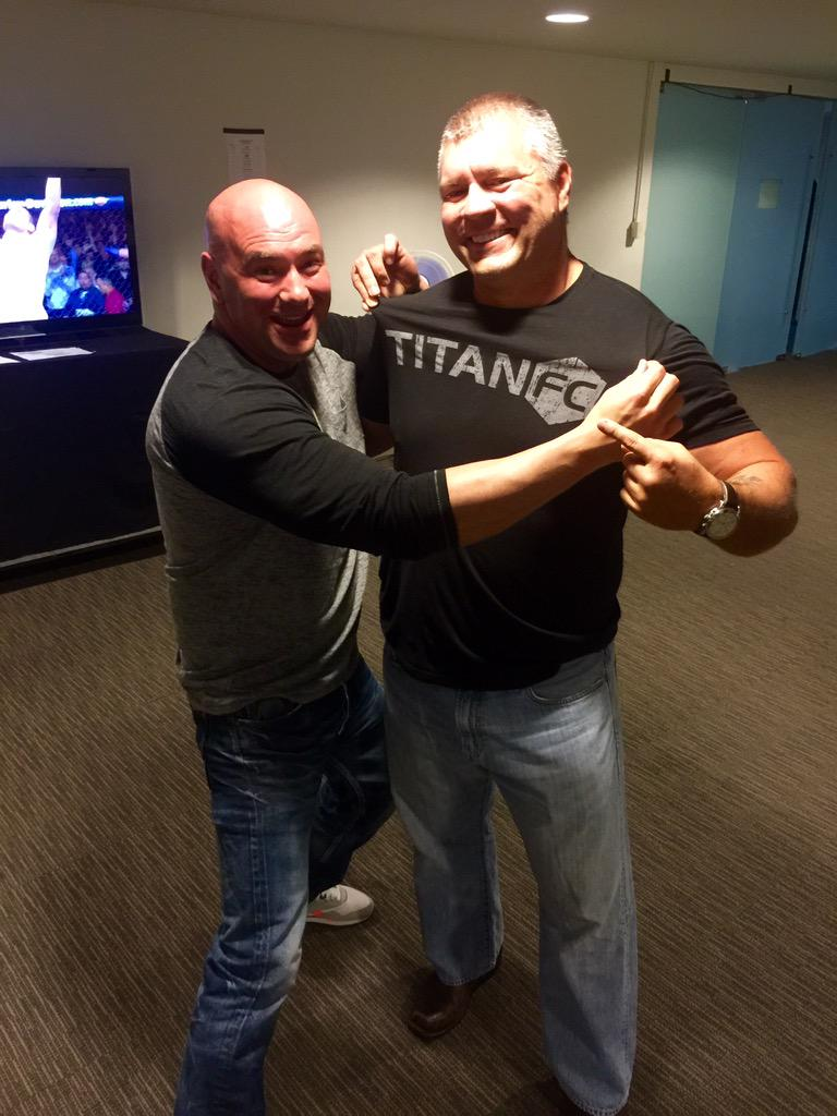 Thanks @danawhite for allowing @TitanFighting to join the @UFC family and become an anchor Fight Pass http://t.co/uH4MD0skwB
