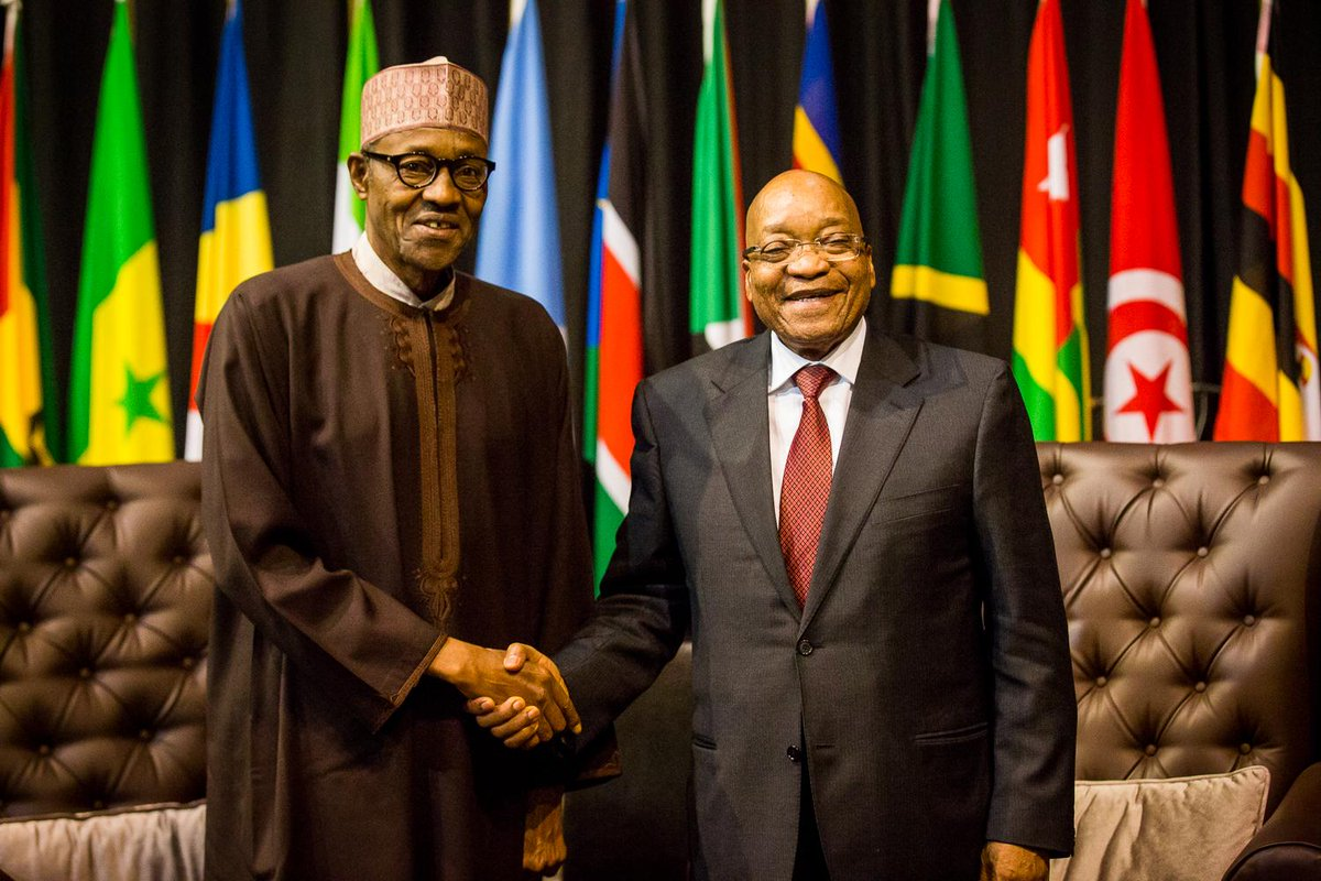 buhari zuma south africa