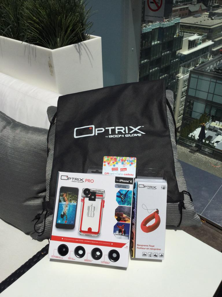 Win everything pictured here by RT'ing all of our #OptrixCA tweets tonight. Winner will be picked in the morning. http://t.co/RGLtGUFH8h
