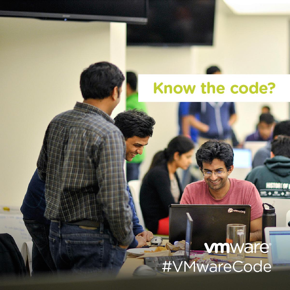 Know the code? Learn, engage & play on @VMware's NEW @hackerrank profile. http://t.co/UQtTCqO70y #VMwareCode http://t.co/dbCPRaqxCZ