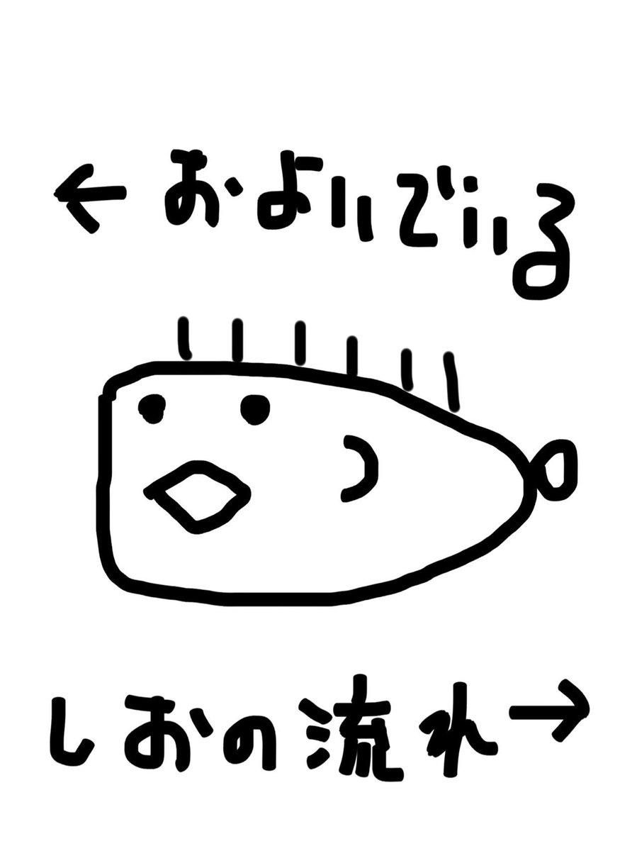 シュノーケルをしていたら見た事がない魚がいました。詳細な絵を描いたので詳しい方、種類を教えてもらえると嬉しいです→ http://t.co/hMZiR8rrzL