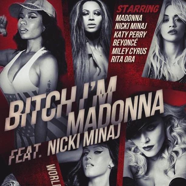 "Colaboración (Single) » ""Bitch I'm Madonna"" (Madonna feat. Nicki Minaj) - Página 2 CHm7GMoWUAAUigc"