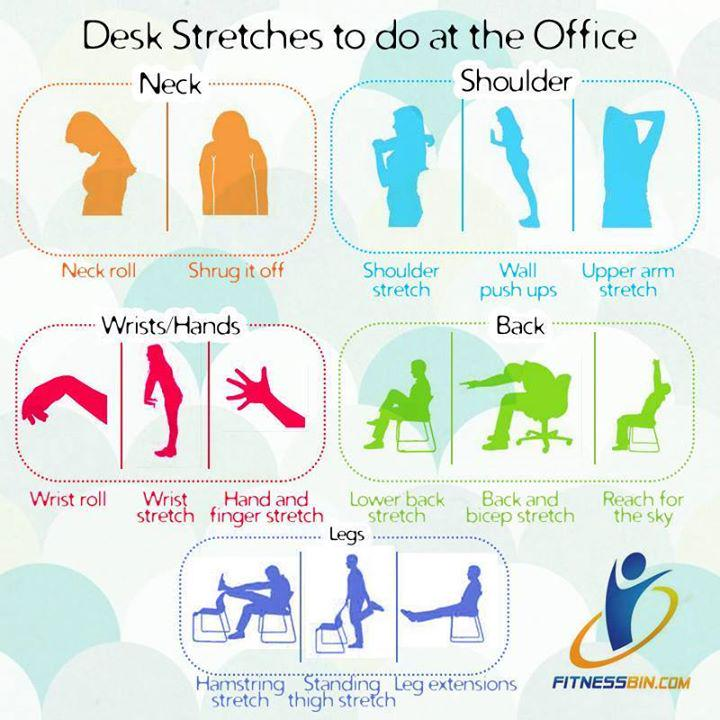 Meshaal Perwaiz Khan On Twitter Quot Desk Stretches To Do At