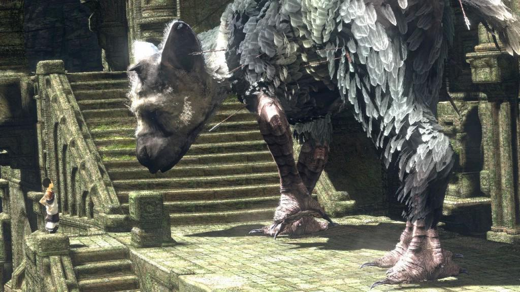 FOTO The Last Guardian videogame Sony PS4