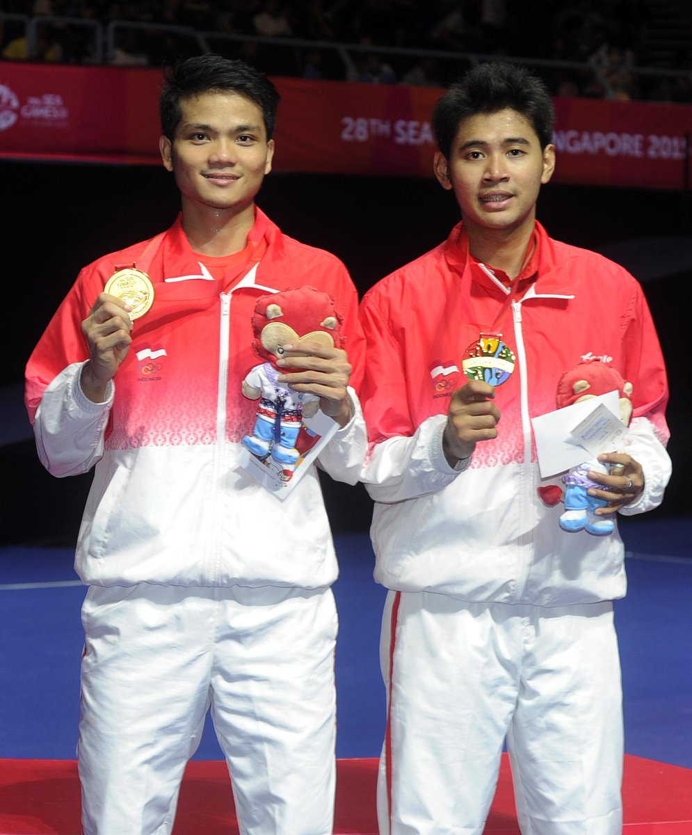 "SG SPORTS TV on Twitter "" Badminton INA s Ricky Karanda Suwardi"