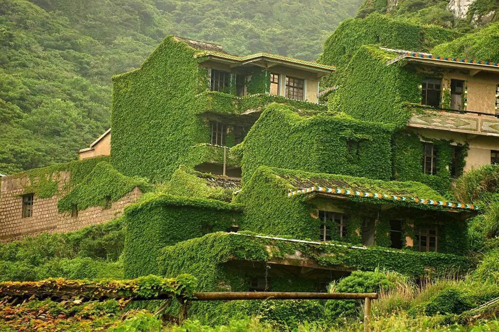 Зеленый город-призрак