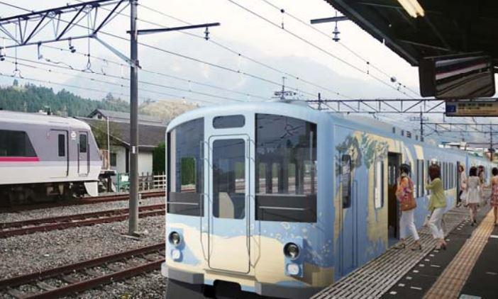 西武鉄道が「秩父」をモチーフとした観光電車を発表。全席「レストラン車両」で、車内演奏・映画上映・車内での結婚式・披露宴なども可能なスペースを備えます。→tetsudo-shimbun.com/headline/entry… pic.twitter.com/lgyHh1PwCV