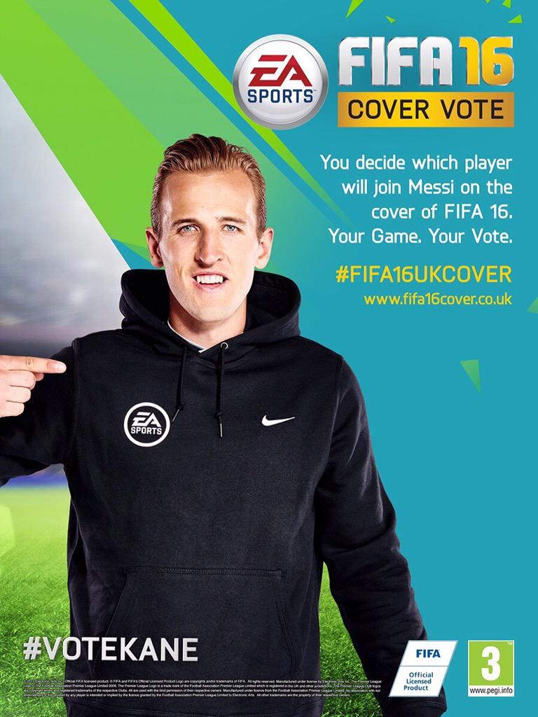 Vote for my boy @hkane28 to be on the cover of #Fifa16 #VoteKane http://t.co/wjoFnB8Sn0 http://t.co/xX6U4XyODi
