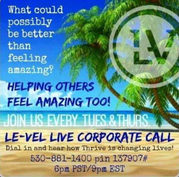 8pm what's this #Thrive stuff about http://edillard.le-vel.com @Team_Dillard #health #energized #freedom #allnatural