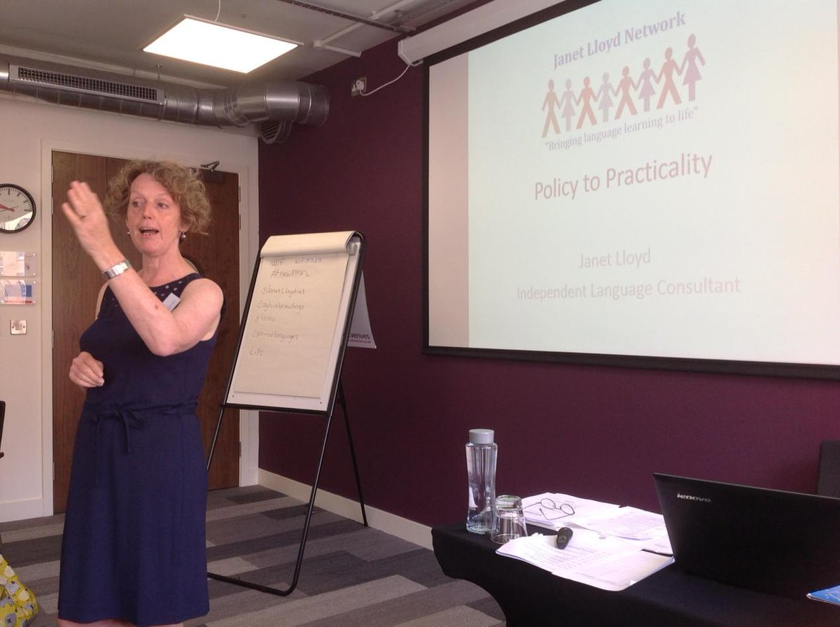 Starting with the wonderful @JanetLloydnet #newPMFL http://t.co/9fwNTtL7Aj