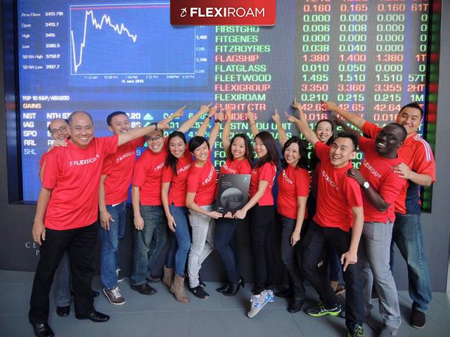 Today is a very (very) happy day for us! Oficial Flexiroam listing at ASX in Australia! #flexiroam #asx #ipolisting http://t.co/IRD8TnqSxt