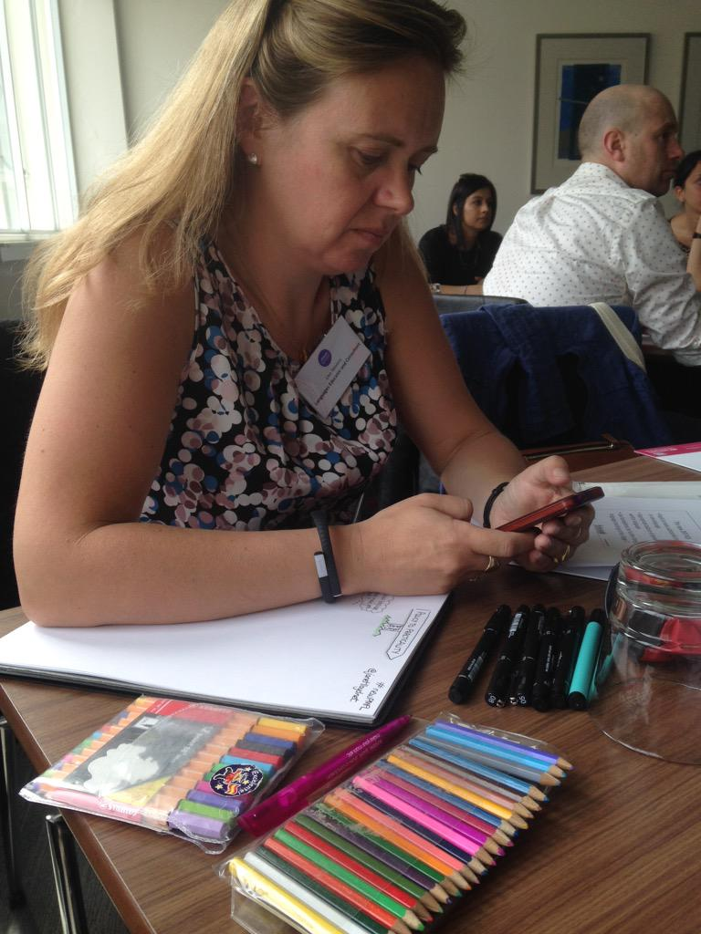 Ready for sketch notes @lisibo #newPMFL http://t.co/jJbDQ4BzY6
