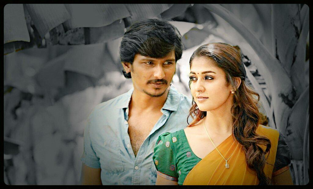 Jeeva, Nayantara look in Thirunaal revealed!