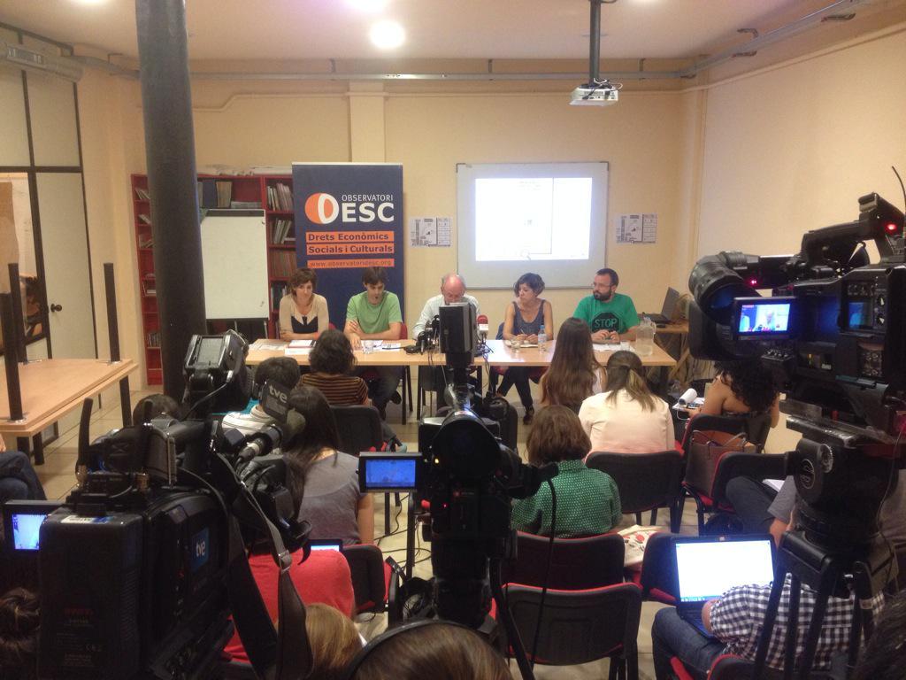 """Thumbnail for Presentació de l'Informe """"Emergència habitacional i dret a l'habitatge a Catalunya"""""""