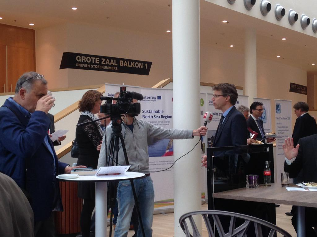 Huge buzz around North Sea Conference 2015, local news on the case! #NSR15assen @NorthSeaRegion http://t.co/ujmRKxXdYJ