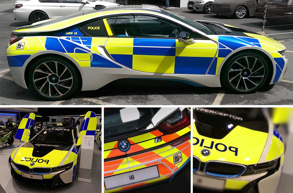 Designs On Twitter The New Bmw I8 Police Hyperceptor Complete