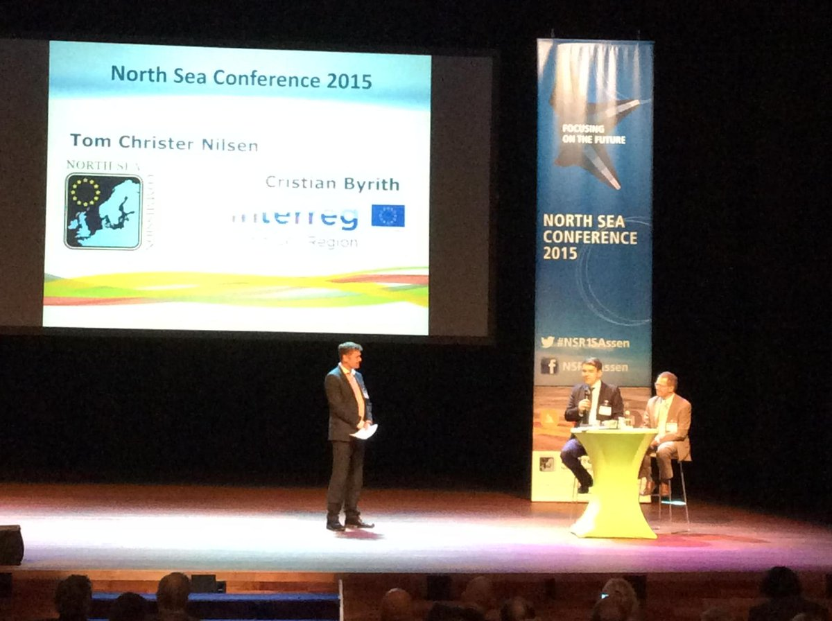 North Sea Commission on stage! #NSR15Assen http://t.co/dzPsdrfmpC