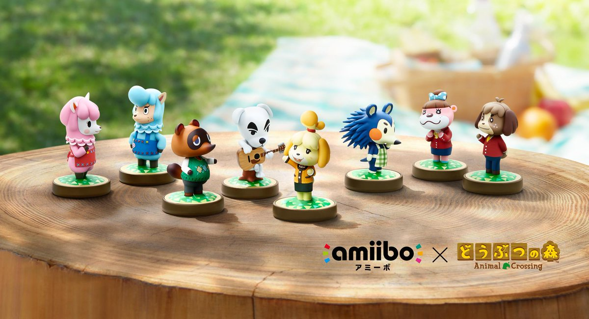 Les amiibo Animal Crossing compatibles avec le jeu Happy Home Designer CHo1GjOXAAEpm3o