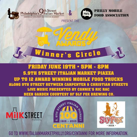Where will you be this Friday night?!?  @vendyawards Winner's Circle here on #9thStreet http://t.co/miGFKGT2WM