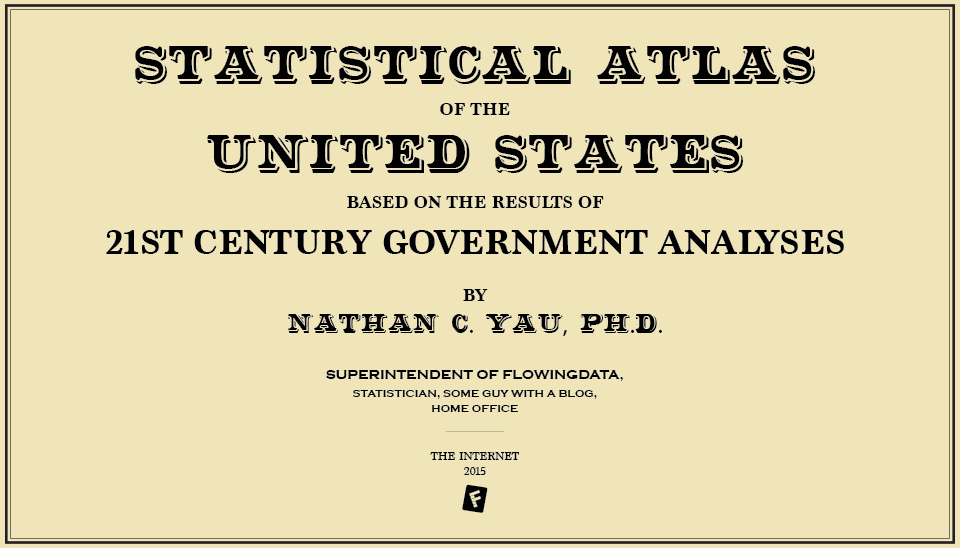 Revived the original US Statistical Atlas from 1870 with new data. I had an itch. http://t.co/7ck3dIEtiY http://t.co/Lq5AbFWETV