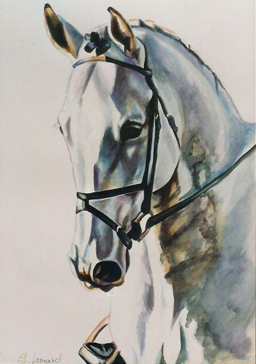 Beautiful Watercolour painting! Fits with the theme for Royal Ascot week. #RoyalAscot by Suzanne Leonard http://t.co/SFBGLYmS6C