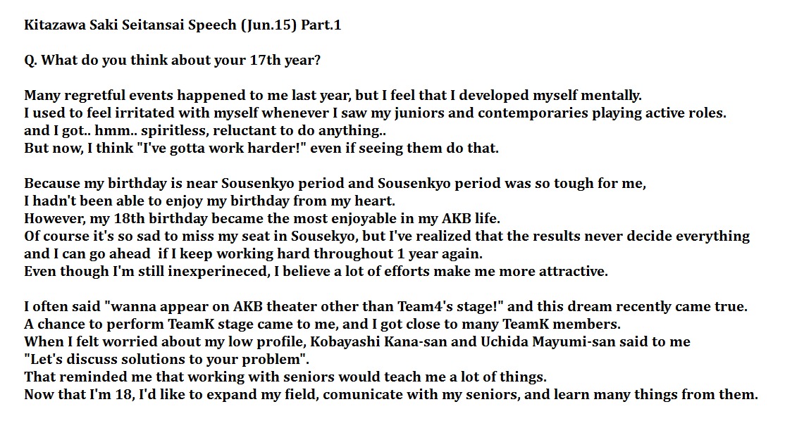 Birthday Speech [From Celebrant or For a Guest]