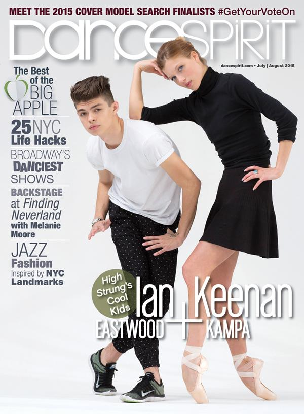 Check out our July/August 2015 cover, featuring @Neenakampa & @Ian_Eastwood of @HighStrungMovie! (PC: Erin Baiano) http://t.co/b9GzHopmNG