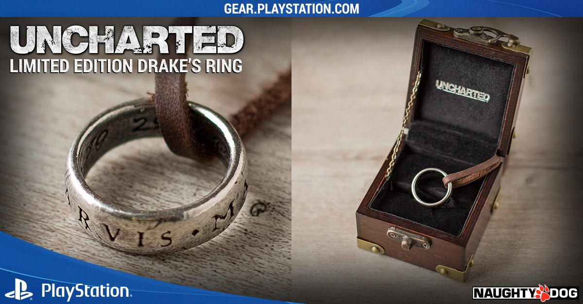 Naughty Dog On Twitter Sic Parvis Magna Limited Edition Drake S Ring Available Now Http T Co Bl2xgrvca9 Ndshop Uncharted Http T Co Cl5notwvwl