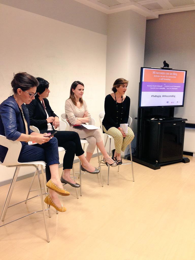 .@nicovitt @domitilla @DonnaBetta @ivanapais che piacere avervi qui! #theblogup #miraccontoblog #innovationisopen http://t.co/tr7uiIsS90