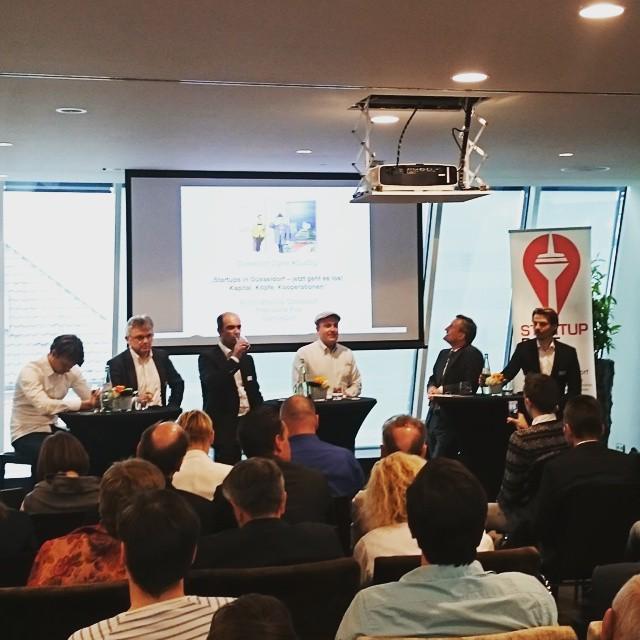 Impressive team on stage to discuss startups in #Düsseldorf #dusdigi #StartupDorf http://t.co/gtPHUOyKNT http://t.co/uCziLmN80r