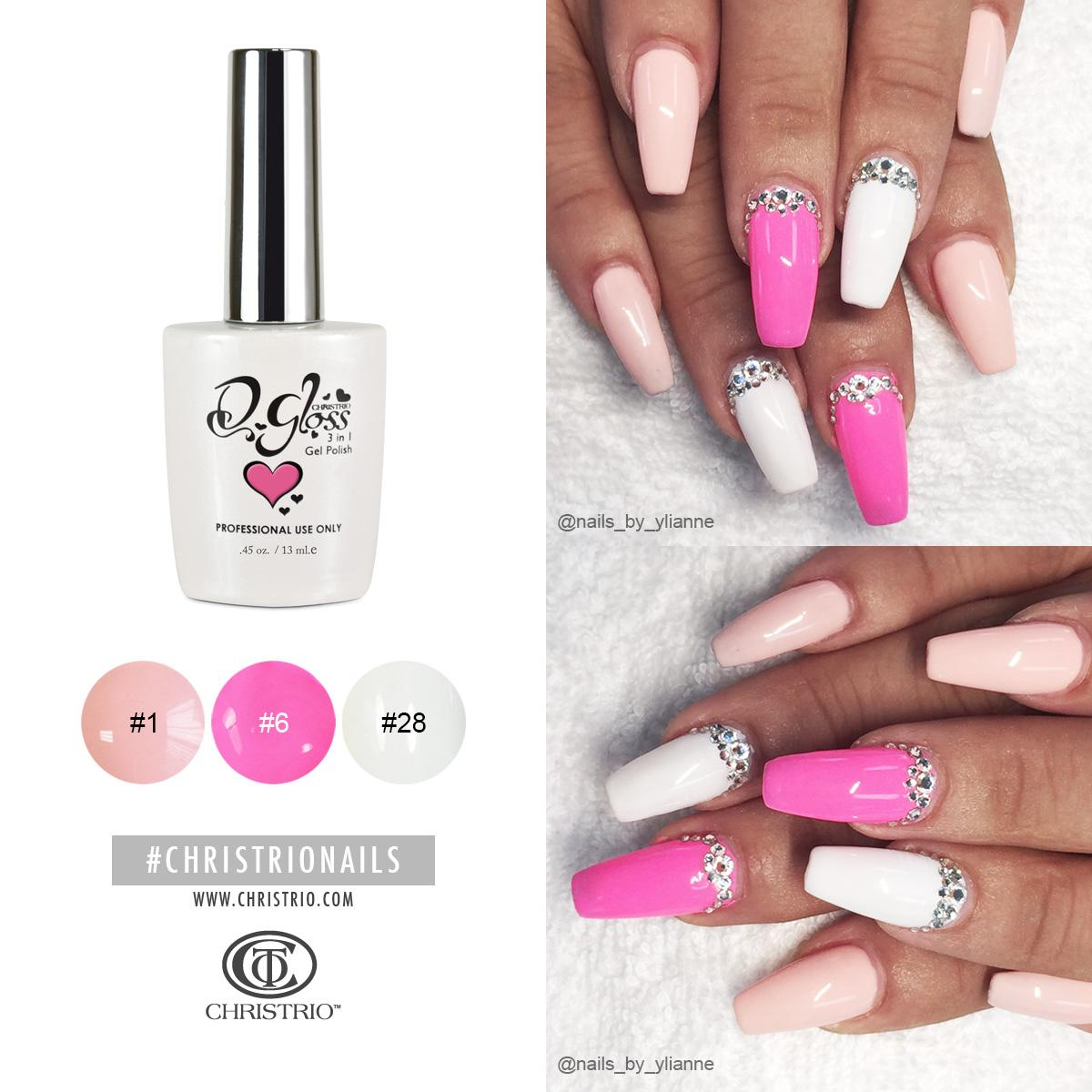 Christrio Nails On Twitter Simple Stunning Created With S Infamous Q Gloss 3 In 1 Gel Polish Nailart Beauty Fashion Pink