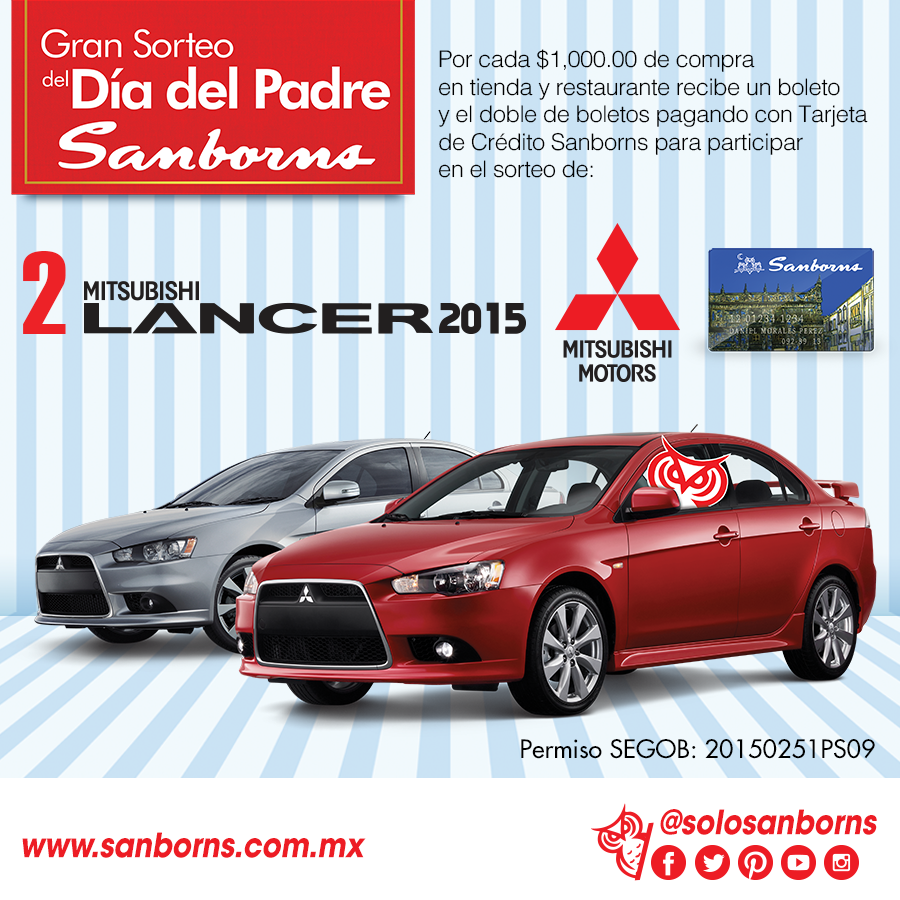 Sanborns sorteo 2015 for Sanborns azulejos horario
