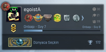 csgo how to become global elite