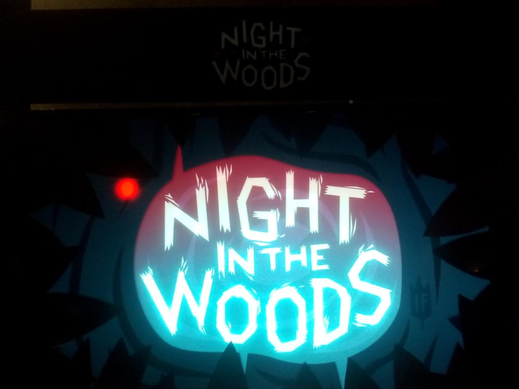 checkin out @bombsfall's Night in the Woods at #IndieCadeE315 booth! luv the dark comedy (ΦωΦ) http://t.co/IqMJ6FXHrY http://t.co/jeJxrM6qmI