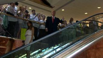 Let's not forget that Donald Trump's road to the White House started on an escalator http://t.co/WeLs5RXZRw http://t.co/NZqwGxGQNi