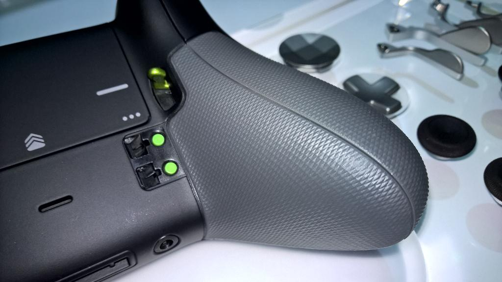 A closer look at the Xbox One Elite controller. 