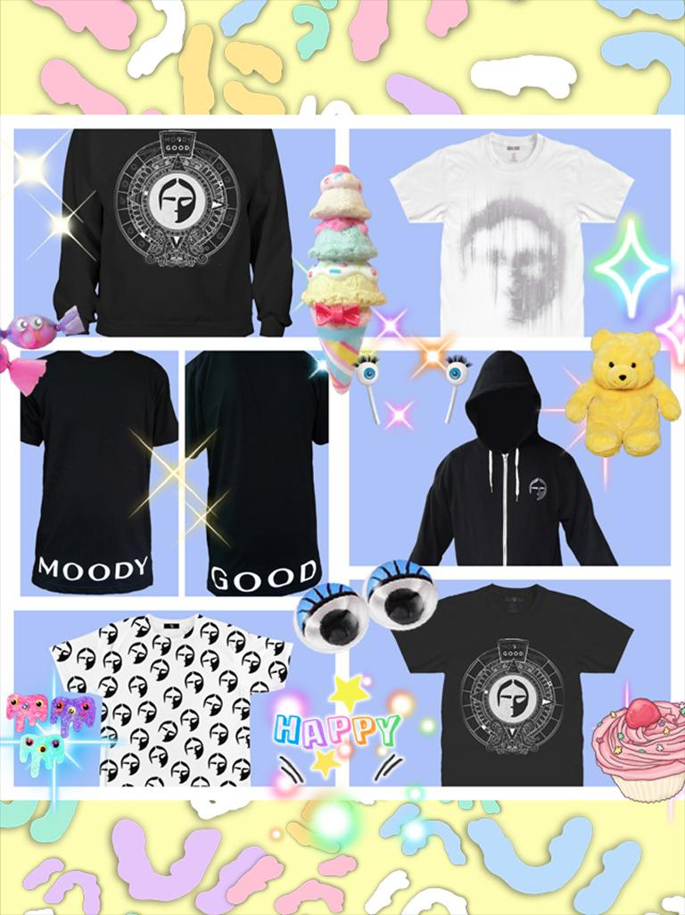 1st chance to cop some Moody Good merch FOR FREE! Retweet or fave this to enter - winners announced Sundayyyyy
