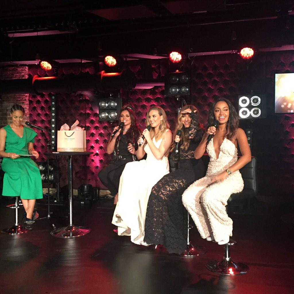 "Loving @littlemix's #fragrance launch #goldmagic. It's ""clean, sassy & sophisticated"" @SASPressOffice @sasandcompany http://t.co/dfvvqRvkX4"