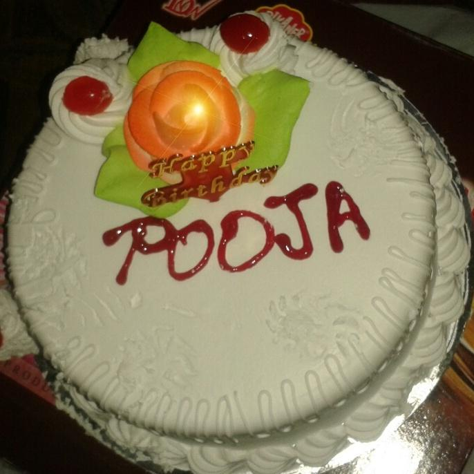Cake Image With Name Pooja Bestpicture1 Org
