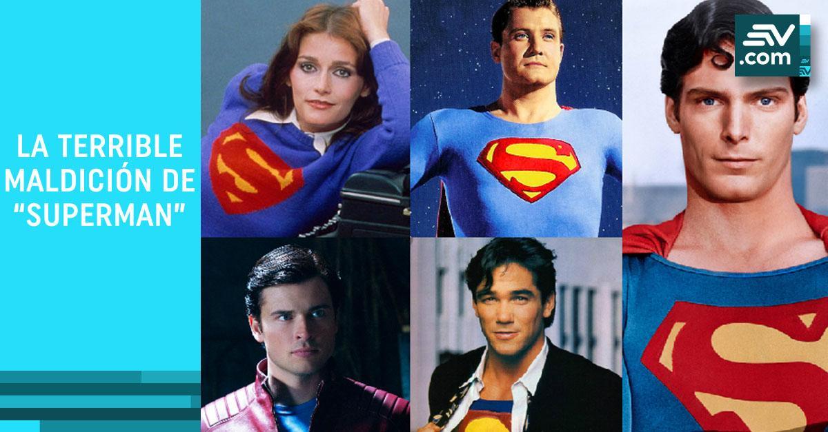 maldición de superman