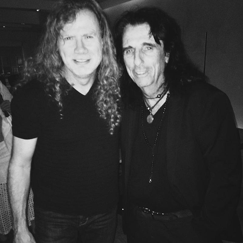 "Dave Mustaine on Twitter: ""I love my Godfather Alice Cooper ..."