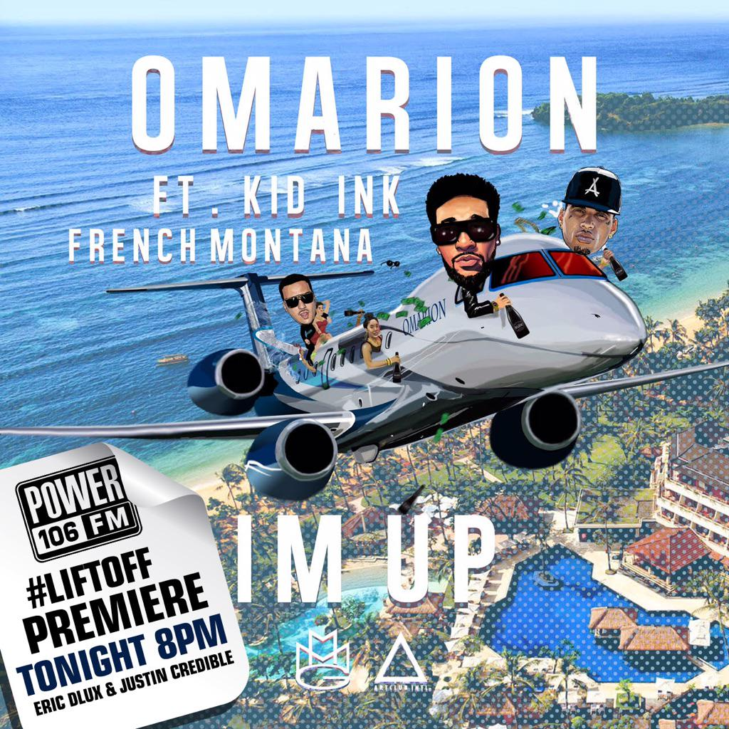 Our guy @1Omarion is coming to blast off his new record tonight on the #LIFTOFF on @Power106LA @J_Credible http://t.co/nNypAFNPmk
