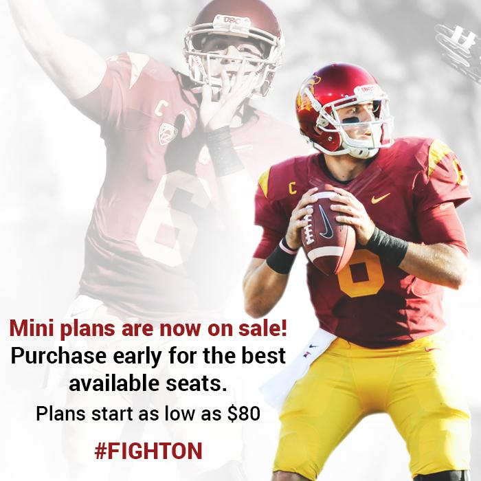 Usc trojans on twitter usc football mini plans are on for Adu plans for sale
