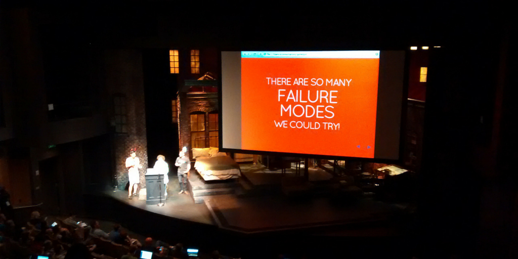 Sweet. @stripe injects failure into their systems too! #Monitorama #FailureFriday http://t.co/ctgAW8CxsS